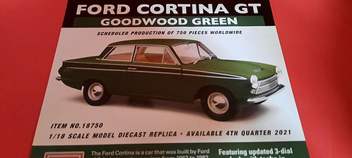 Ford Cortina GT Goodwood Green PREOR