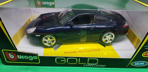 Bburago Porsche 911 Carrera 4 Diecast Car