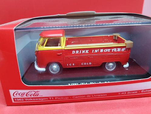 1962 VW coca cola T1 pickup diecast car.