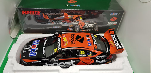 2018 ZB Commodore Coulthard Adelaide Diecast Model Car