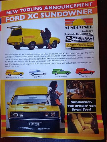 Ford XC Sundowner Pine & Lime PREORDER