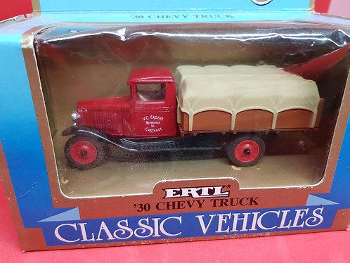 1930 Chevy truck diecast.
