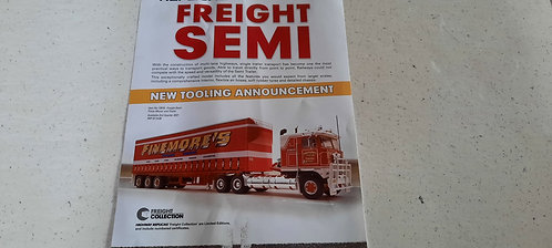 Finemore's Transport Semi Trailer