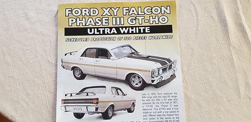 Ford Falcon XY Phase 3 GTHO PREORDER