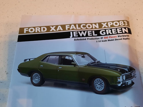 Ford Falcon XA RPO83 Jewel Green PREORDER