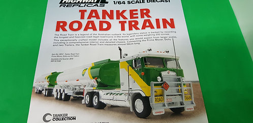 Australian Road Train BP Tanker