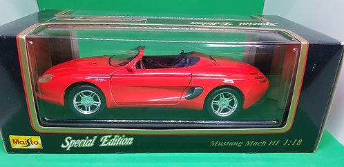 Maisto Mustang Mach 3 Convertible Diecast Car