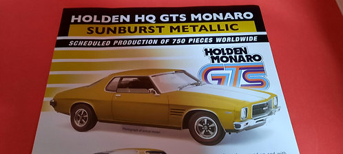 Holden HQ GTS Sunburst Metallic PREORDER