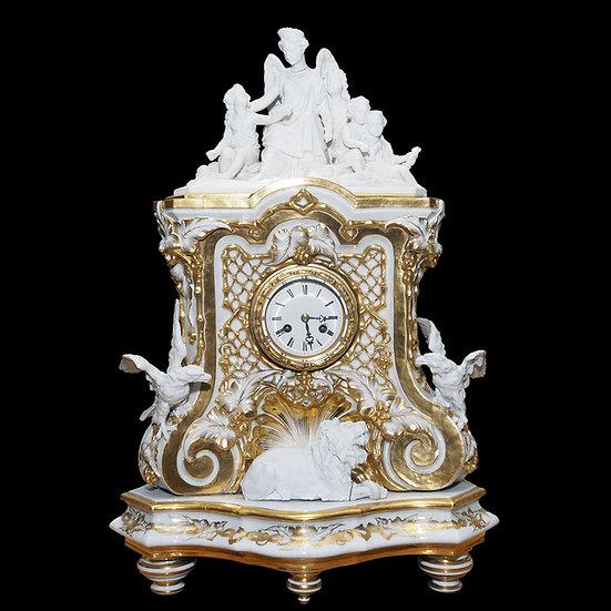 Часы каминные «Обучение наукам»
