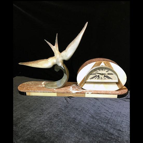 Часы каминные «Чайка»