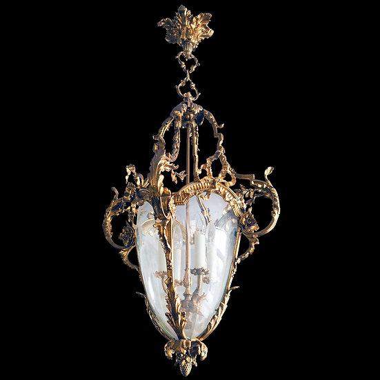 Фонарь в стиле барокко на 4 светоточки