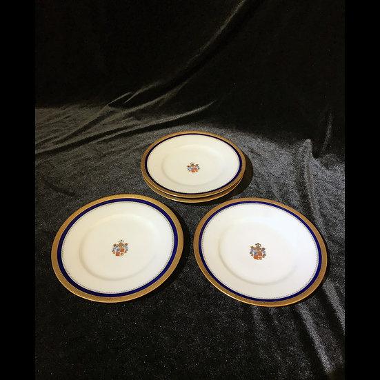 Тарелка десертная с гербом, фабрика Ессена
