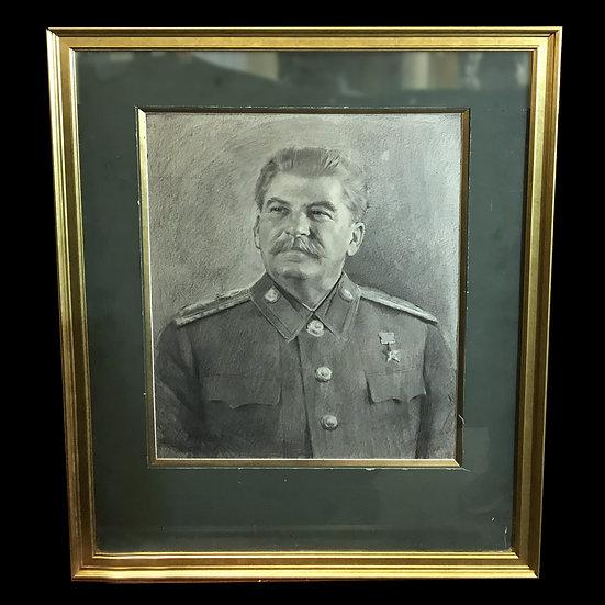 П. Быстров портрет И. В. Сталина