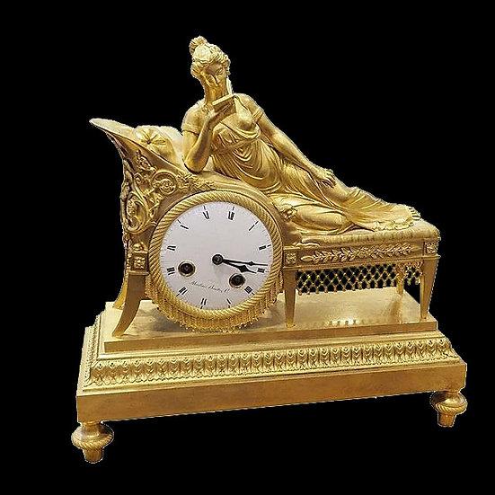 Часы каминные «Мадам Рекамье»
