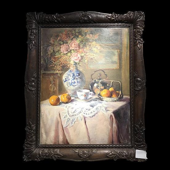 Lanini «Натюрморт с апельсинами»