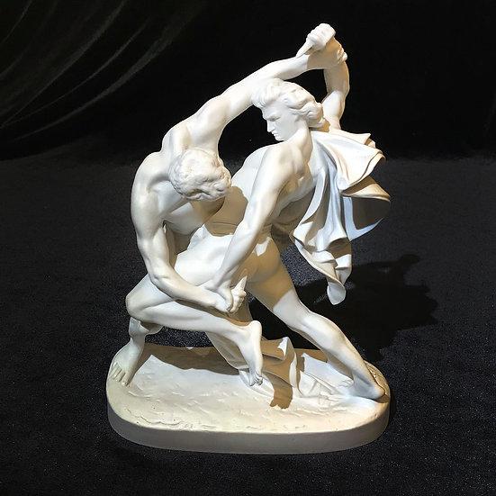 Скульптура «Скандинавская борьба»