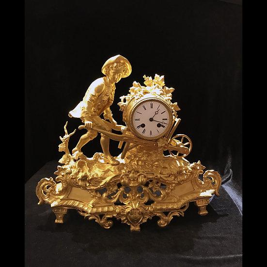 Часы каминные «Винодел»
