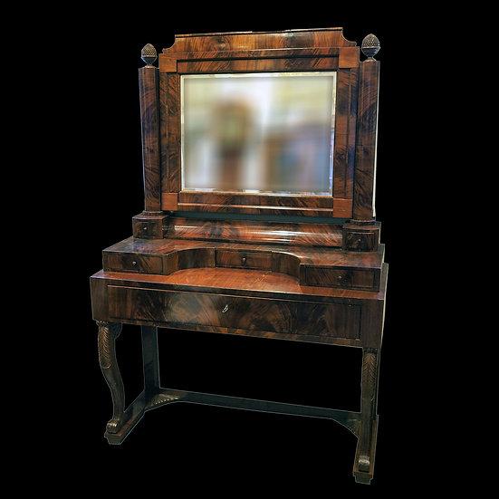 Столик туалетный с зеркалом псише