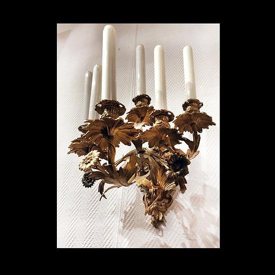 Парные бра на 6 свечей