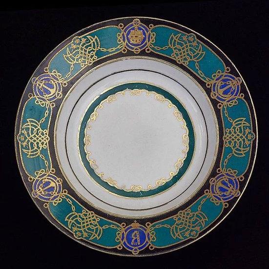Тарелка глубокая (1 шт) / Тарелка мелкая (2 шт)