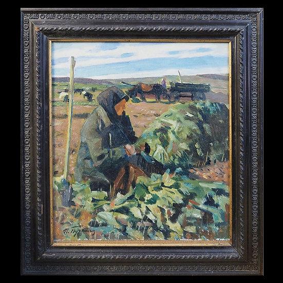 П.Д. Бучкин «Уборка урожая»