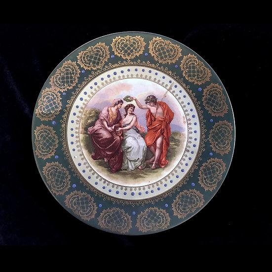 Тарелка декоративная «Награждение венком»