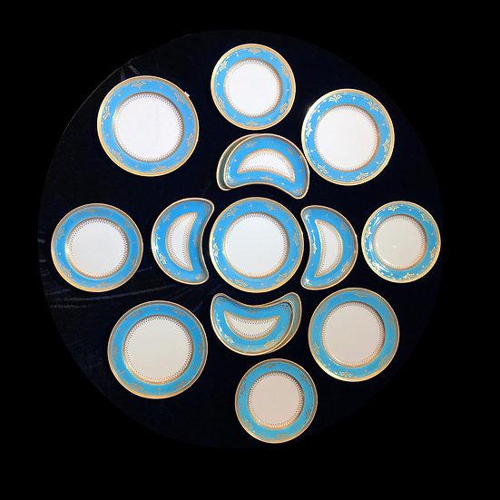 Набор тарелок фабрика Минтона