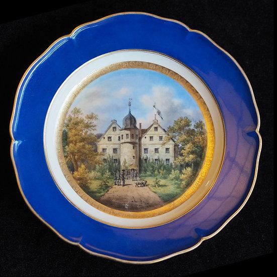 Тарелка декоративная «Загородный дом»