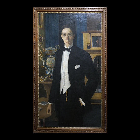 В.П. Белкин «Портрет Ивана Мозжухина»