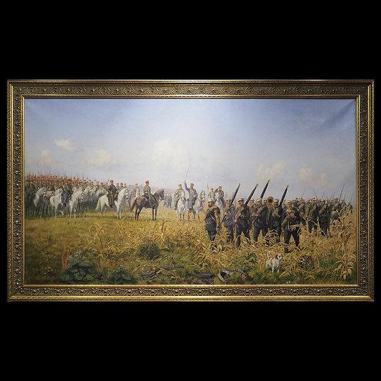 Н.Н. Бунин «После боя под Телишем 12-го октября 1877 года Лейб-г