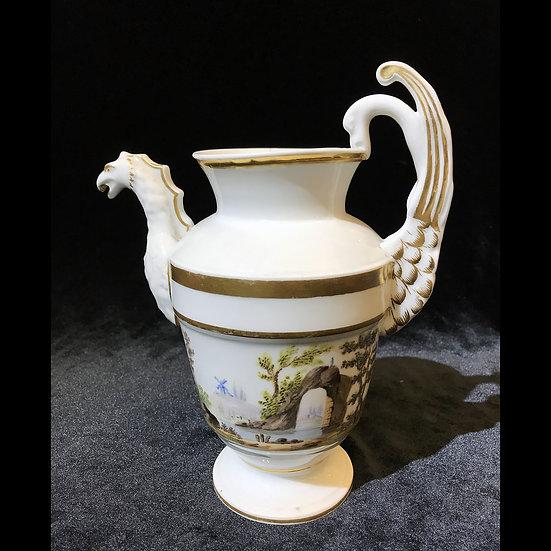 Чайник роспись «Грот и мельница»