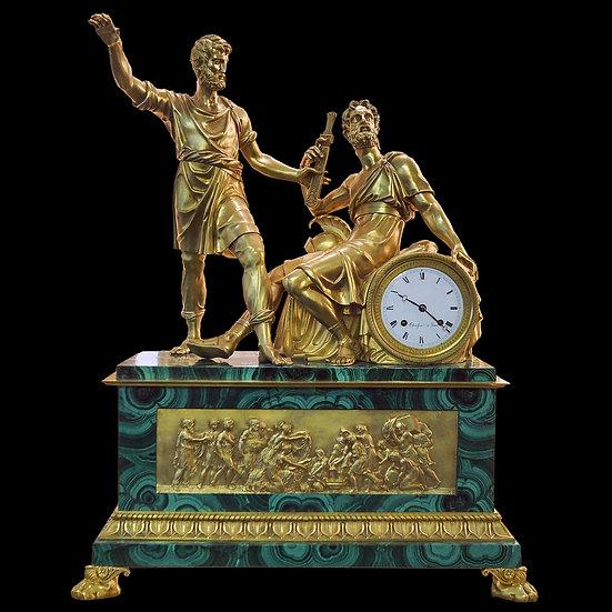 Часы каминные «Минин и Пожарский»