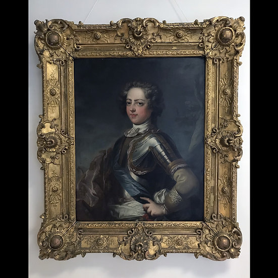 Loo Jean Baptiste Van, портрет Людовика ХV