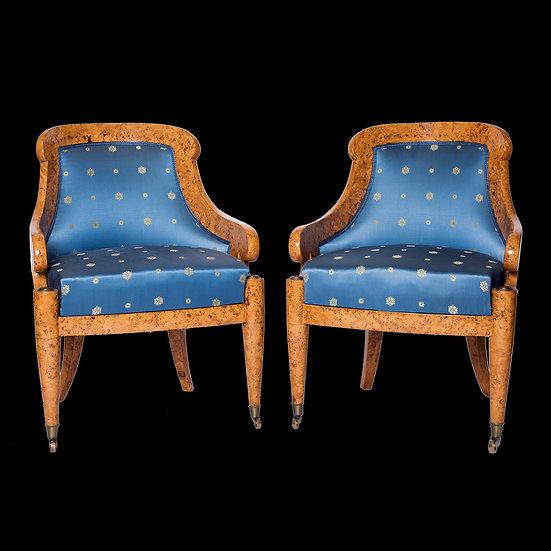 Парные кресла-корытца
