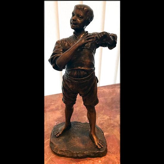 Гинзбург И. Я. «Мальчик, играющий на струне»