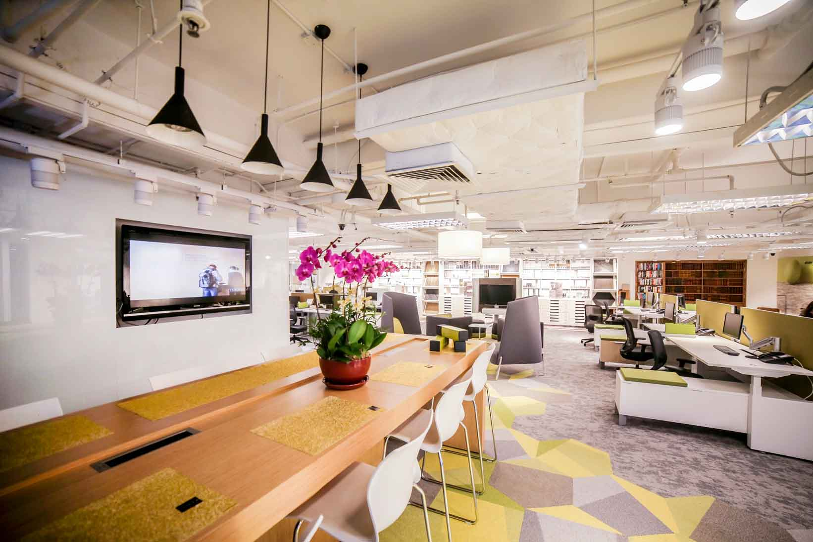 Office dining area sample