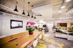Office dining area sample