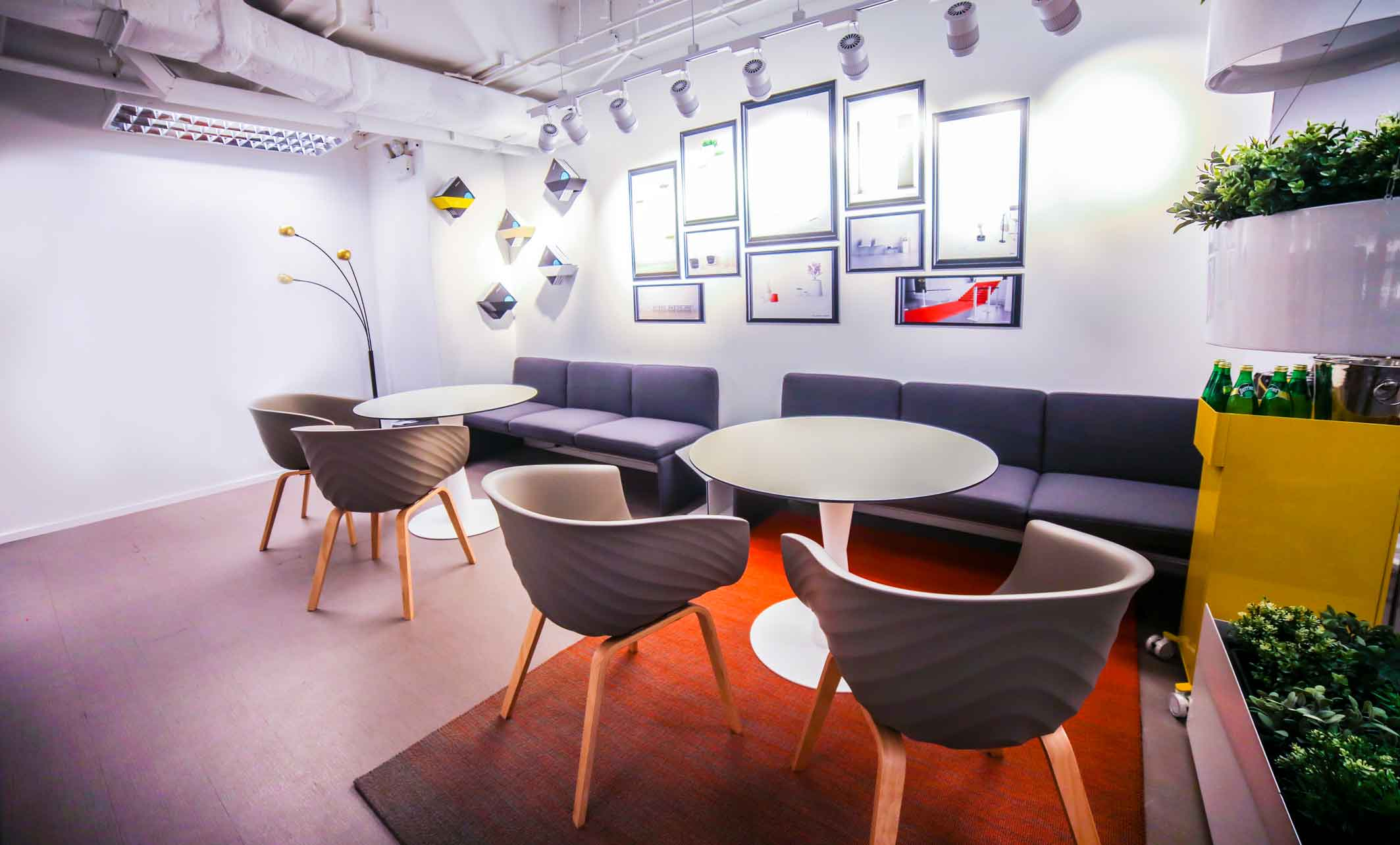 Office lounge at Frontier Workspace