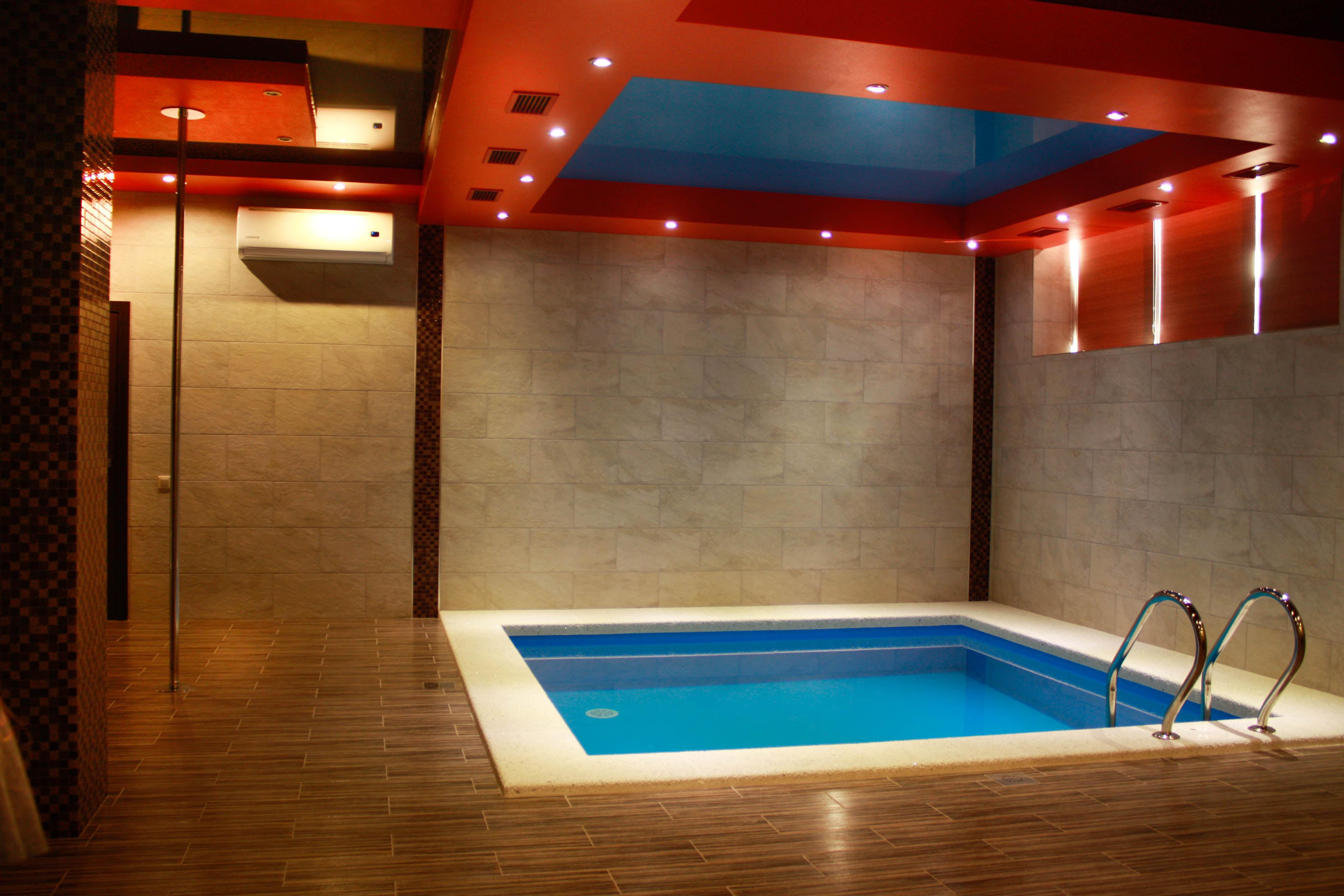 Картинки саун с бассейном