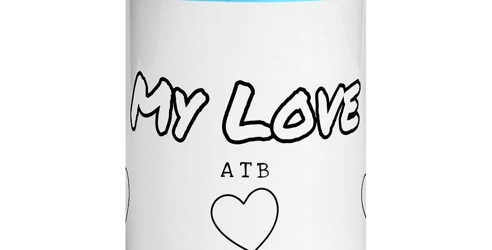 My Love - Colored Interior Coffee Mug