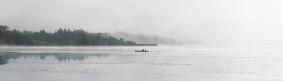 Morning Fog on Telford Lake
