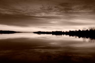 Telford Lake Fall