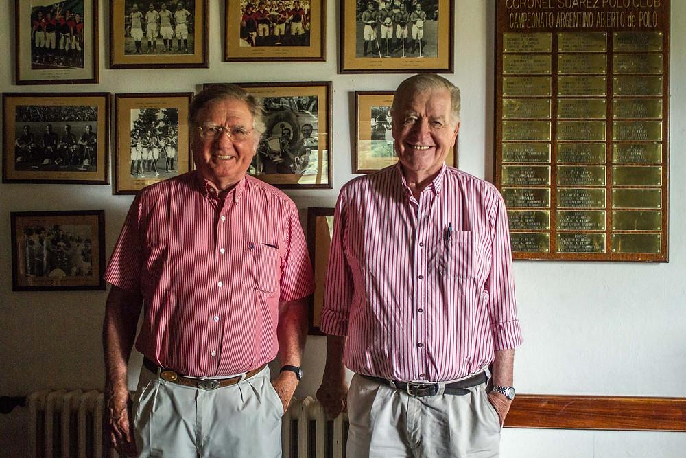 Alfredo y JuanCarlitos Harriott en Suárez. Foto: Guadalupe Aizaga