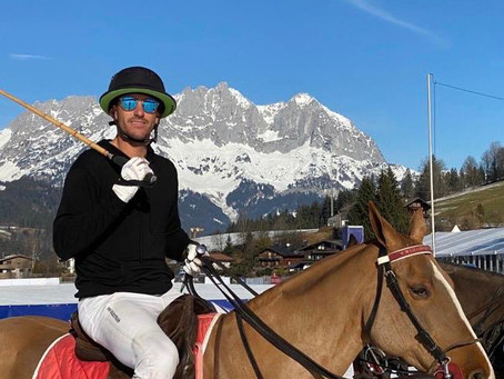 Nic Roldan won the 18th Bendura Bank Snow Polo World Cup Kitzbühel