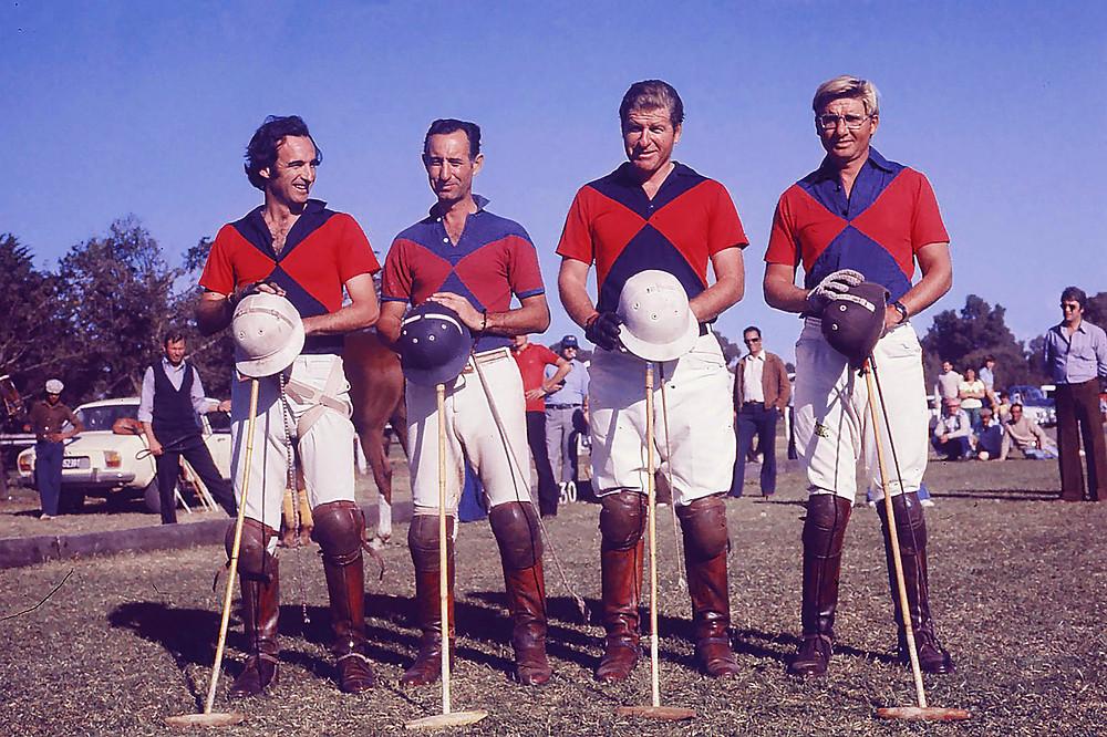 Los 4 fantásticos de Coronel Suárez. Foto: Archivo