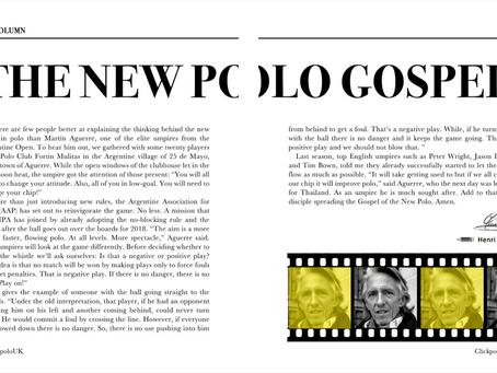 THE NEW POLO GOSPEL
