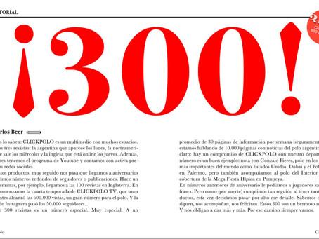 ¡300!