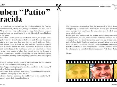 """Rubén """"Patito"""" Gracida"""