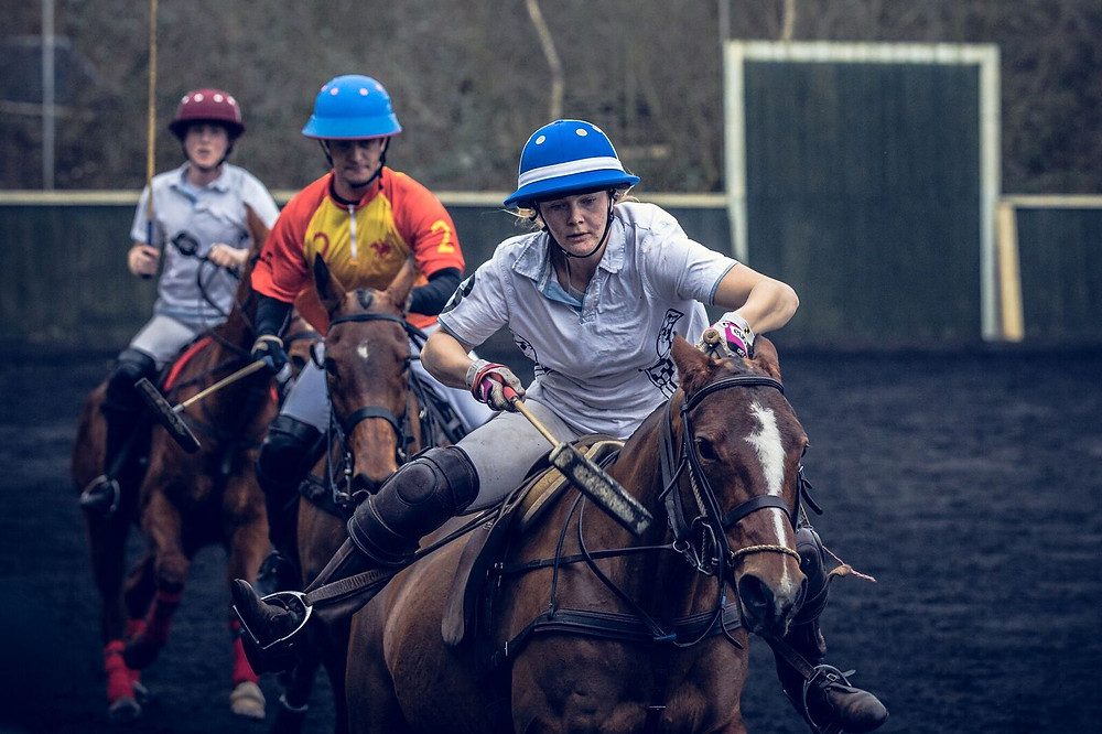 Go Nell! Photo: The Art of Polo