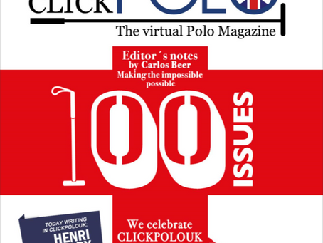 """ClickpoloUK has certainly made its mark in polo"""